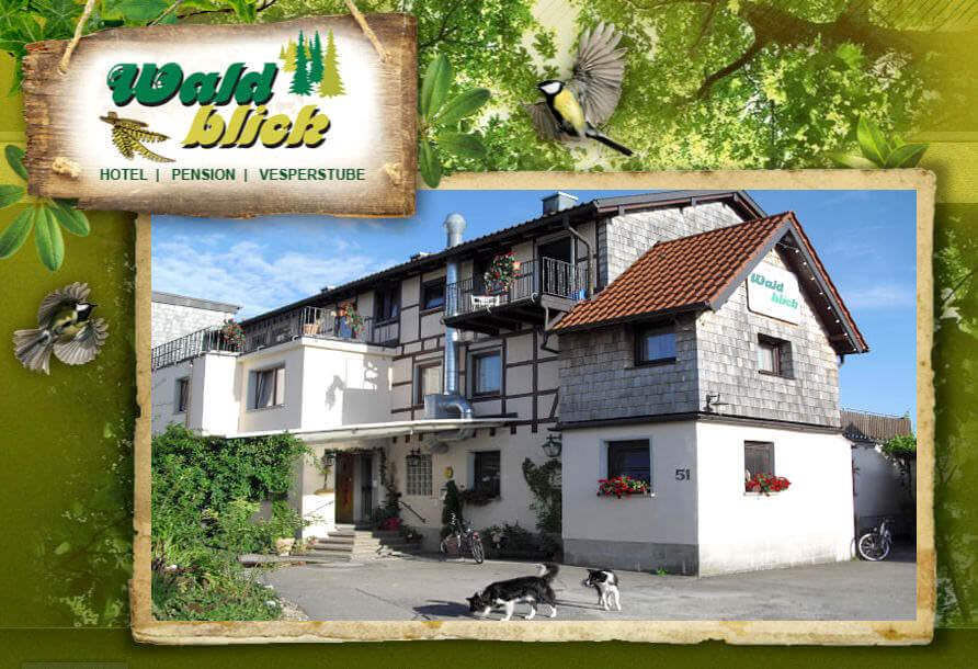 Mainhardt: Hotel Pension Waldblick