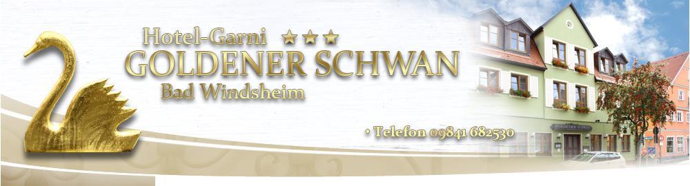 Bad Windsheim: Hotel Garni Goldener Schwan mit Gästehaus