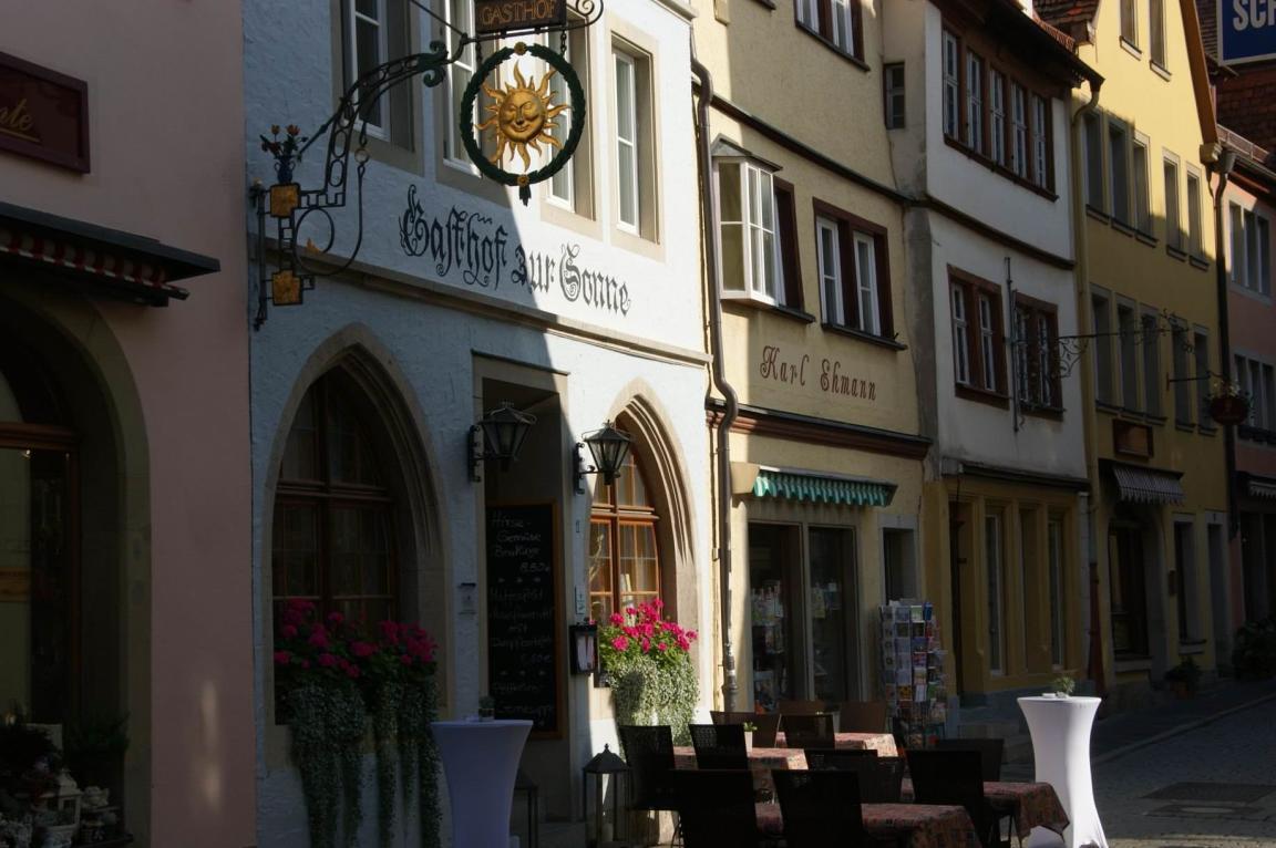 Rothenburg ob der Tauber: Hotel Zur Sonne