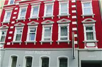 Hof: Hotel Garni Posthorn