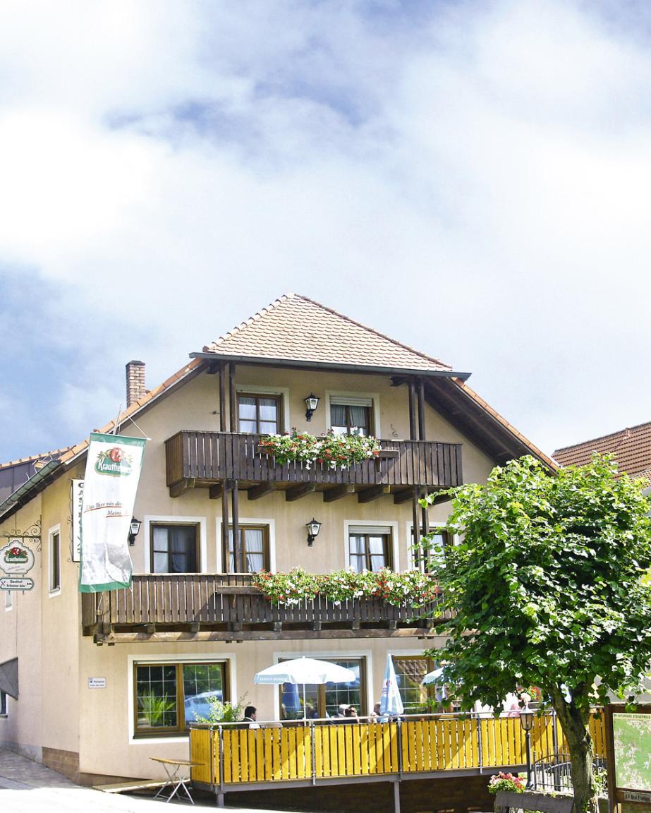 Gasthof Schwarzer Adler, Pension in Ebrach bei Dingolshausen