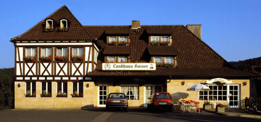 Dörfles-Esbach: Hotel & Landhaus Kaiser