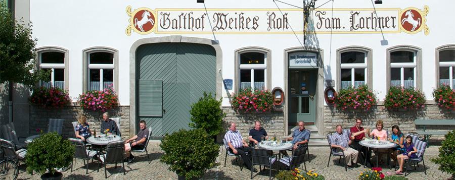 Aub: Gasthof Weißes Roß**