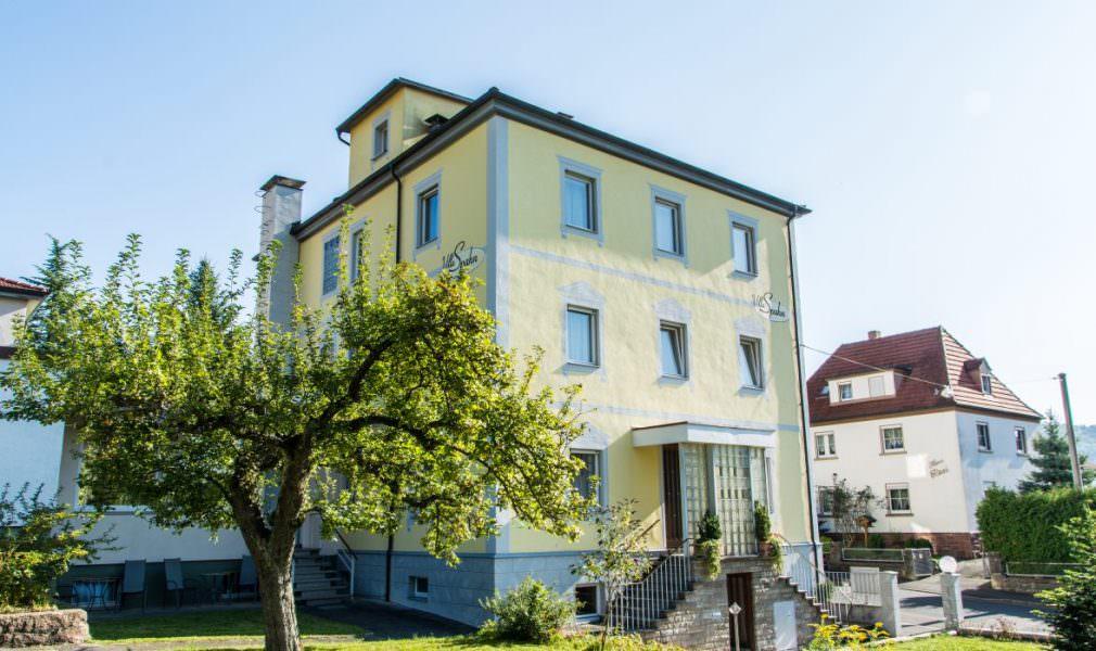 Hotel Garni Pension Villa Spahn, Monteurzimmer in Bad Kissingen bei Gochsheim