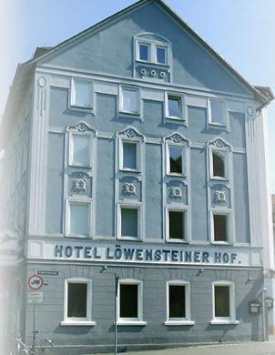 Hotel Garni Löwensteiner Hof, Hotel in Wertheim bei Miltenberg