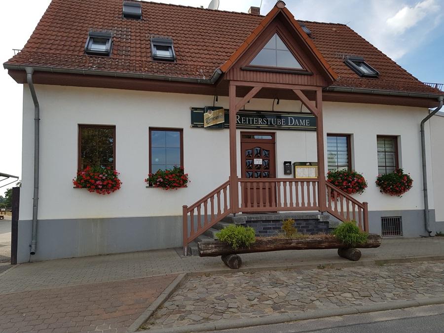 Gasthof Reiterhof Dame, Pension in Wahlitz bei Magdeburg