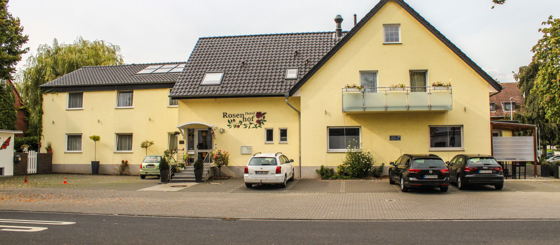 Düsseldorf-Angermund: Hotel Rosenhof