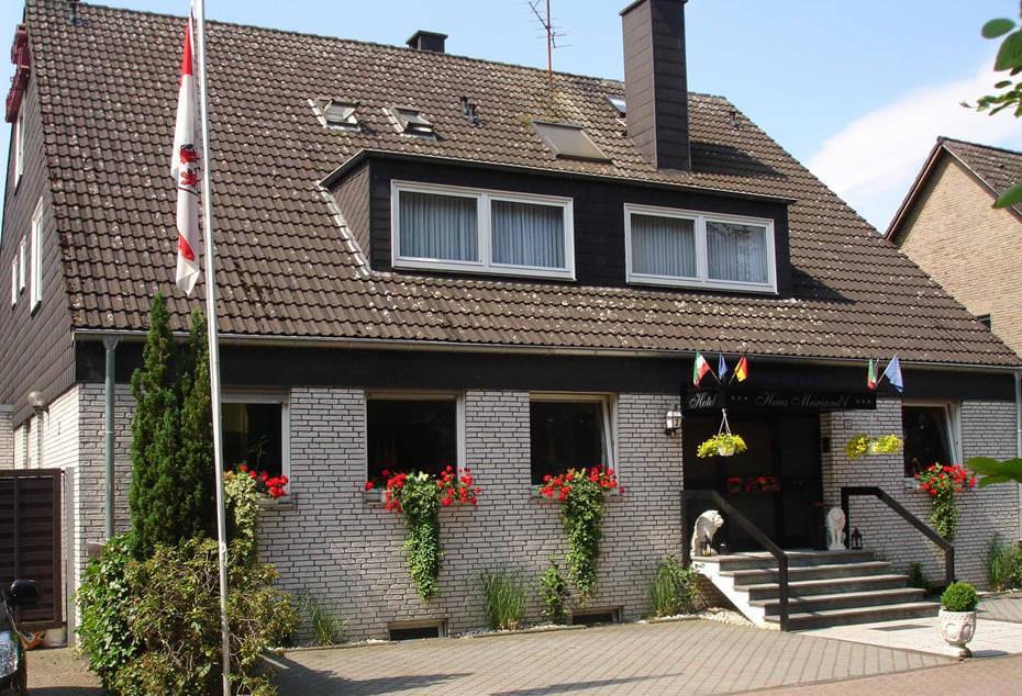 Düsseldorf-Angermund: Hotel Garni Haus Mariand'l