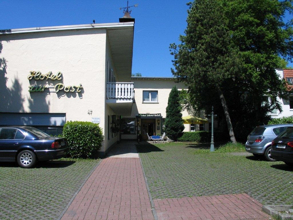 Hotel Zur Post, Hotel in Wuppertal-Cronenberg bei Wuppertal
