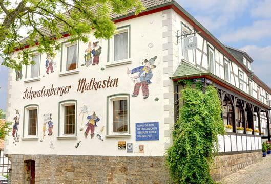 Schieder-Schwalenberg: Hotel Malkasten