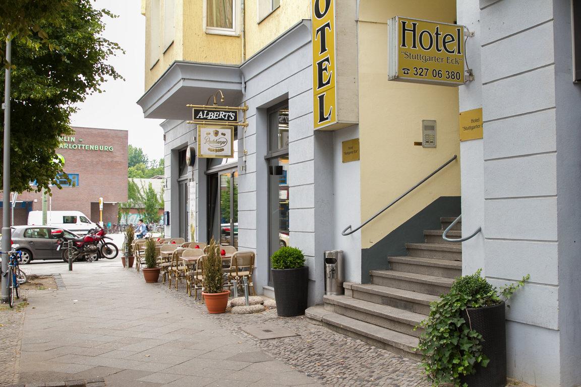 Berlin-Charlottenburg: Hotel Pension Stuttgarter Eck