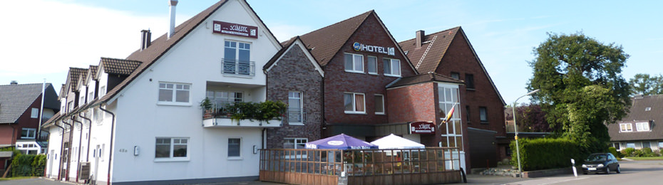Bottrop-Overhagen: Hotel Up de Schmudde