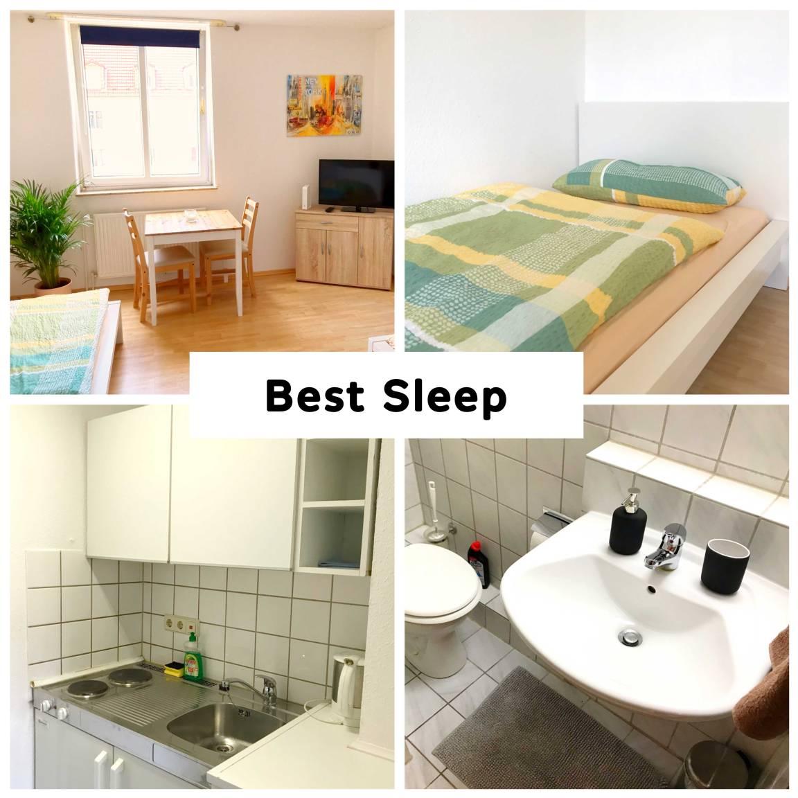 Bielefeld: Appartement Best Sleep Bielefeld