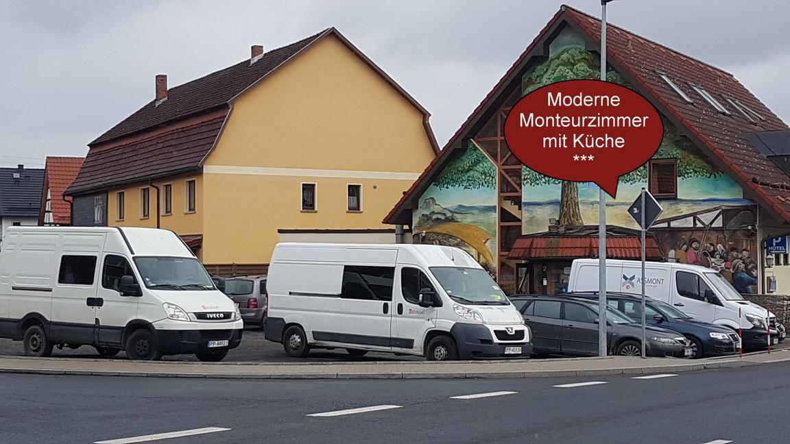 Hildburghausen: Hotel-Pension Grüner Baum