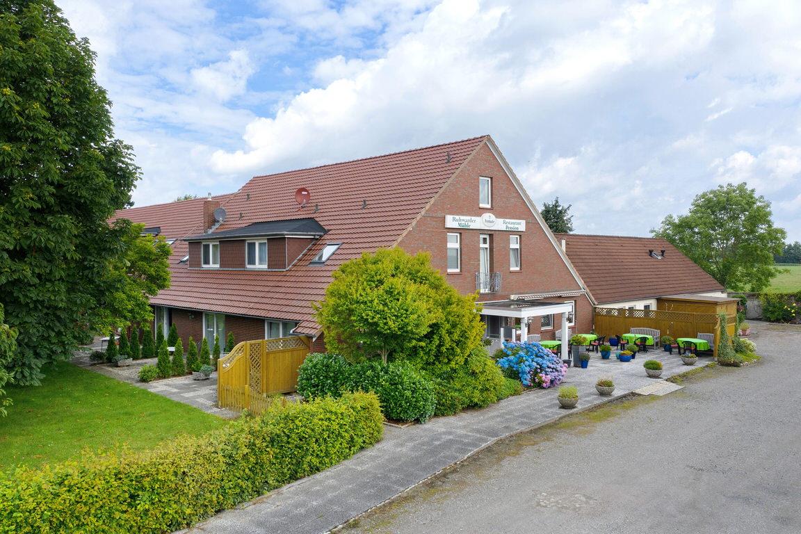 Ruhwarder Mühle, Pension in Butjadingen-Ruhwarden bei Bremerhaven