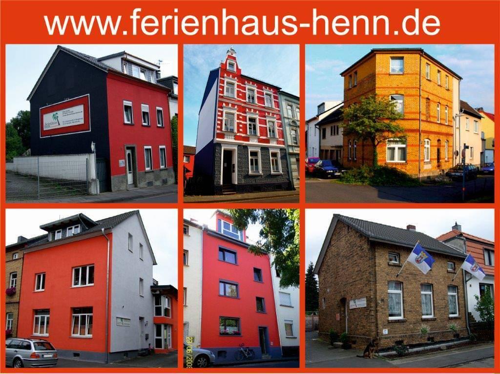 Ferienhaus Henn, Pension in Siegburg bei Flughafen Köln/Bonn