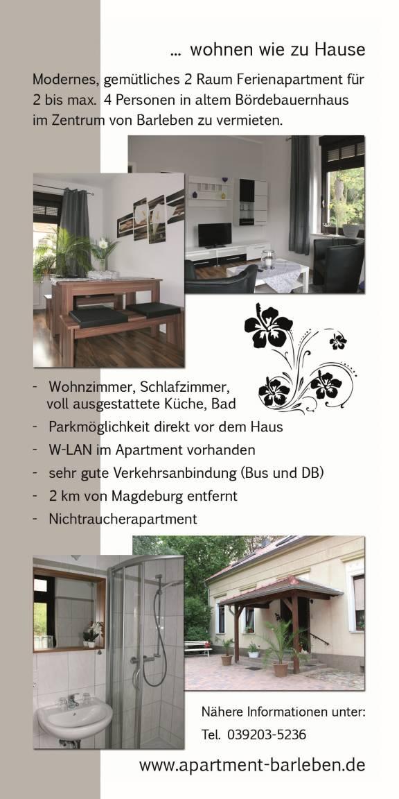 Barleben:  Apartment Barleben