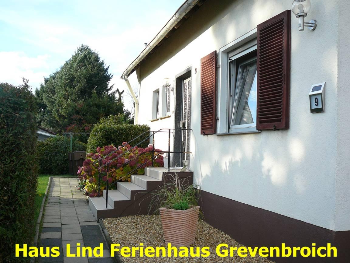 Grevenbroich: Ferienwohnung Haus Lind