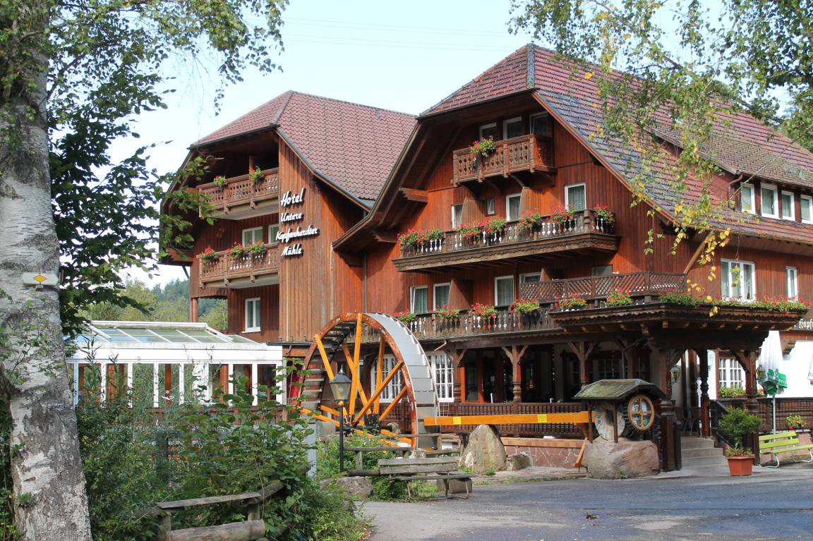 Unterreichenbach: Hotel Untere Kapfenhardter Mühle