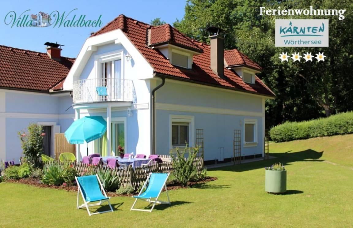 Ferienwohnung am Wörthersee Villa Waldbach, Pension in Krumpendorf am Wörthersee bei Ponfeld