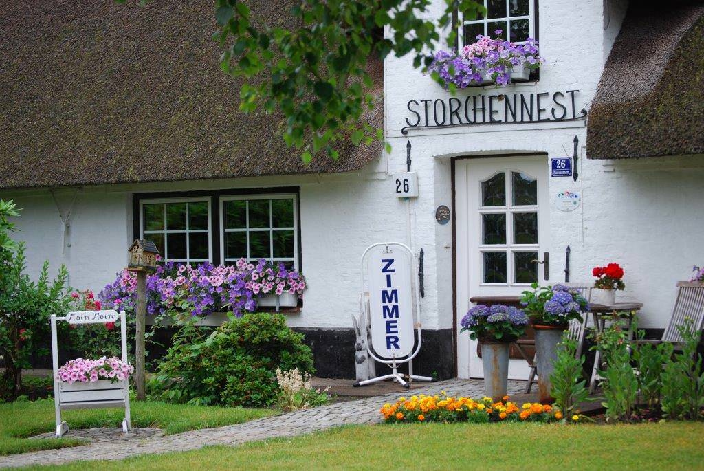 Schafflund: Hotel Garni Bed&Breakfast Storchennest