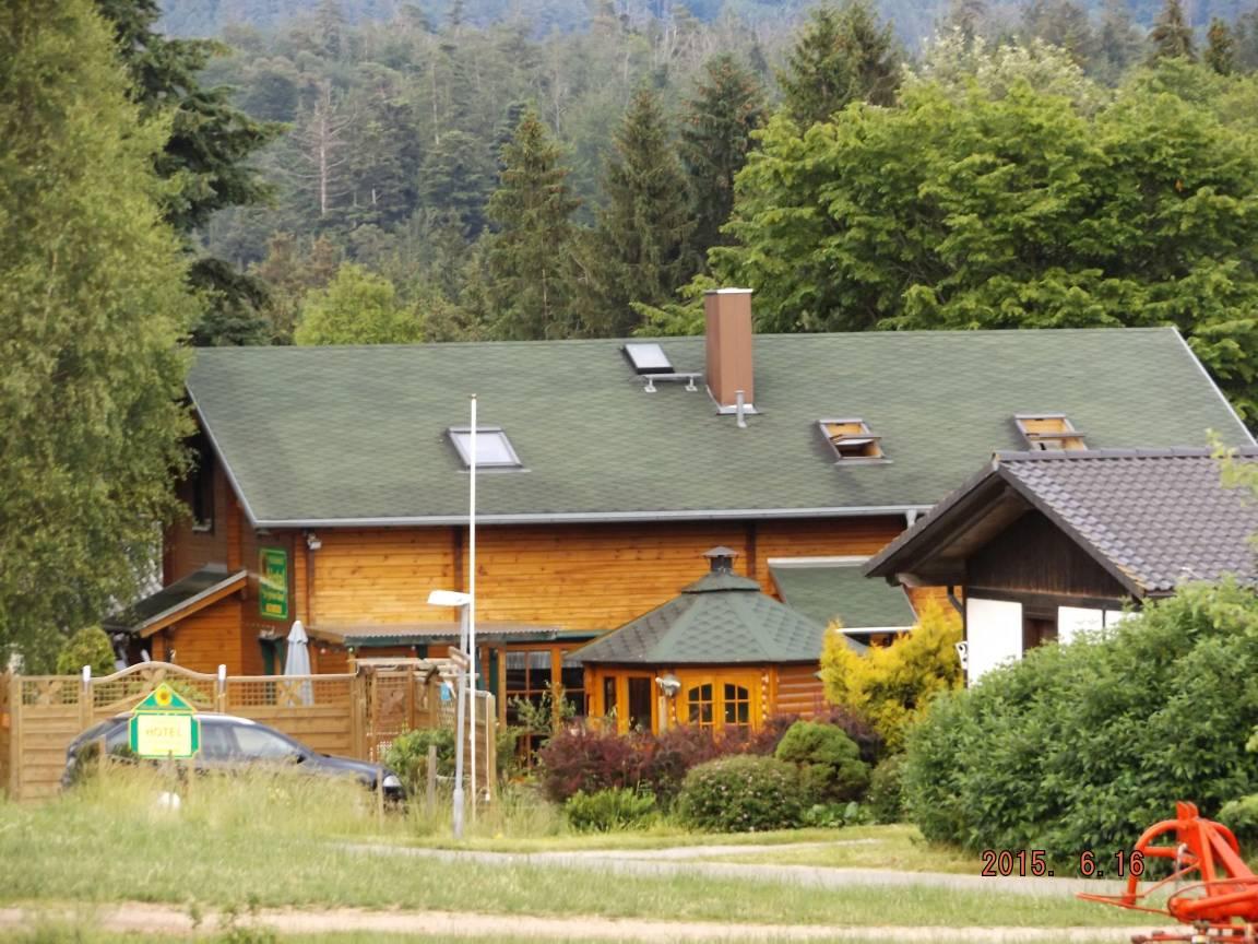 Ferienhaushotel zur grünen Oase, Pension in Bühlerzell