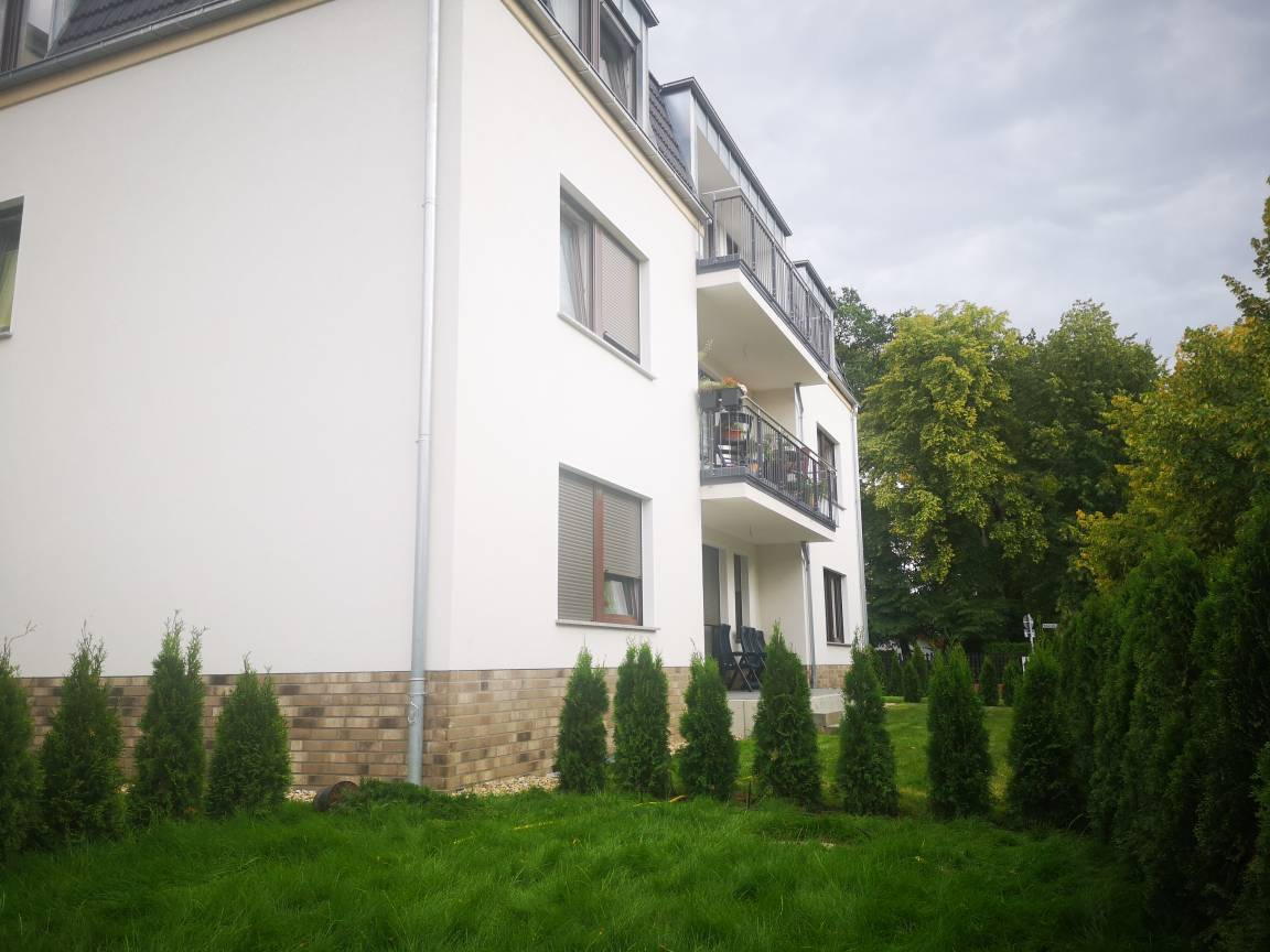 Modernes Apartmenthaus, Pension in Falkensee bei Töplitz