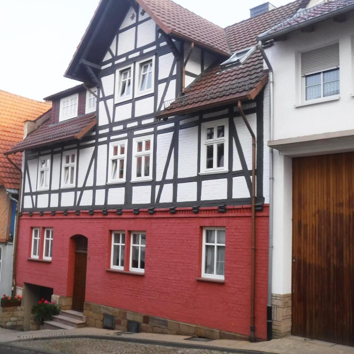 Zimmer/Monteurwohnung Haus Siegner mit Schlossblick, Pension in Spangenberg bei Kassel