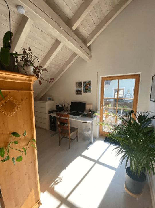 Modernes Zimmer mit Balkon in perfekter Lage, Pension in Wolfratshausen bei München