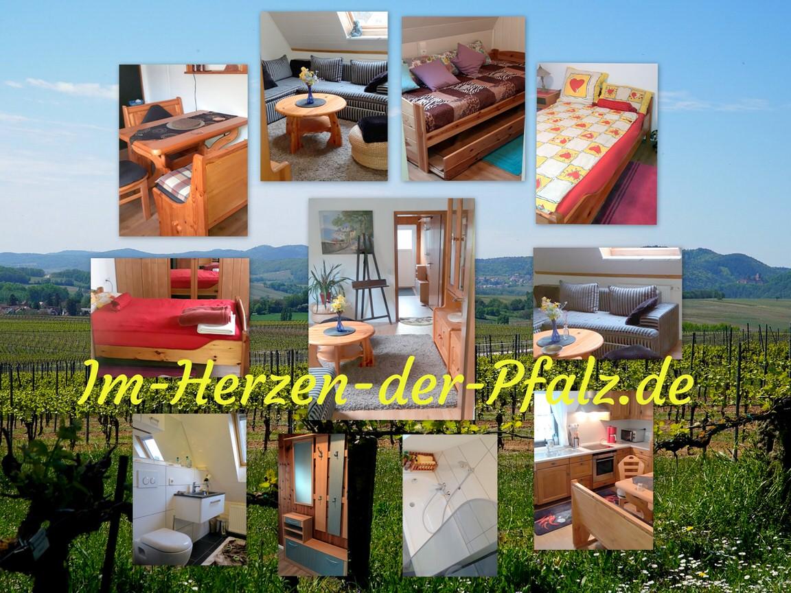 Ferienwohnung/Monteurwohnung Meiser, Ferienwohnung in Lambrecht bei Hockenheim