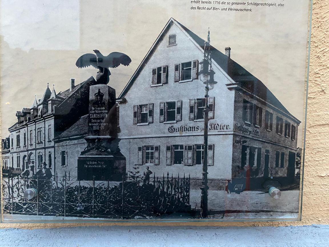 Hotel zum Adler, Monteurzimmer in Mannheim