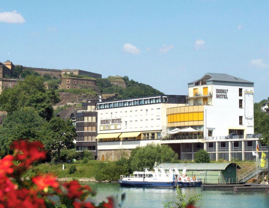 DIEHLs Hotel, Hotel in Koblenz