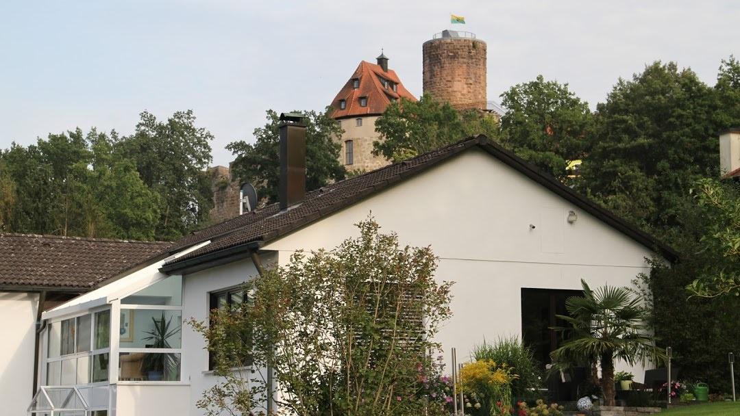 Apartment mit Burgblick, Pension in Burgthann bei Feucht